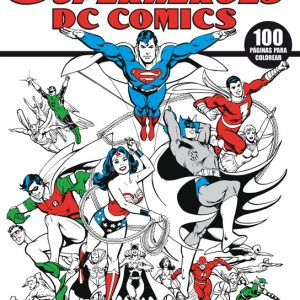 Cubierta Superhéroes DC comics