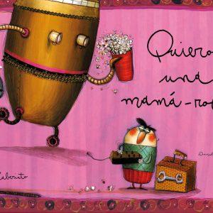 Cubierta Quiero una mamá-robot