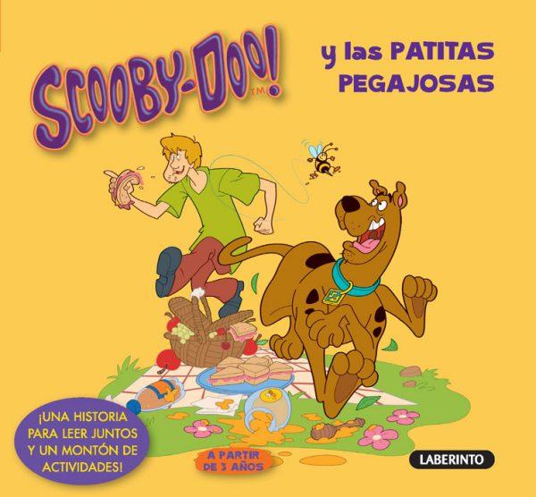 Cubierta Scooby-Doo y las patitas pegajosas