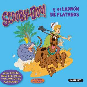Cubierta Scooby-Doo y el ladrón de plátanos