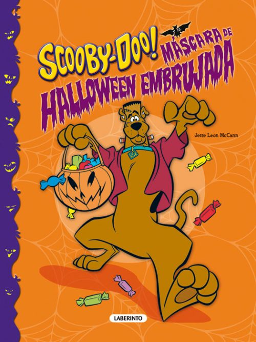 Cubierta Scooby-Doo y la máscara de Halloween embrujada