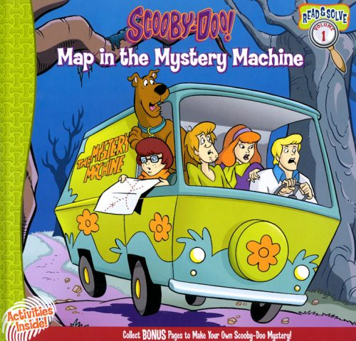 Cubierta Map in the Mystery Machine
