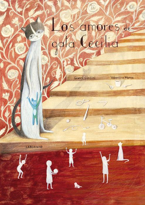 Cubierta Los amores de gata Cecilia