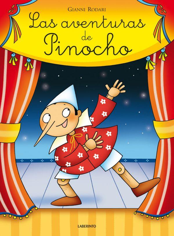 Cubierta Las aventuras de Pinocho