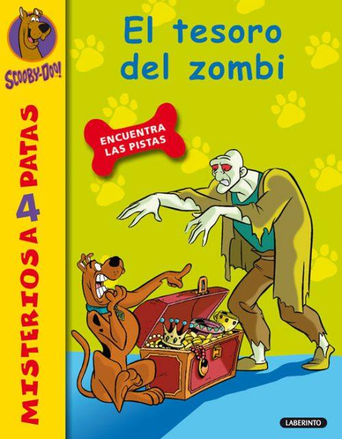 Cubierta El tesoro del zombi