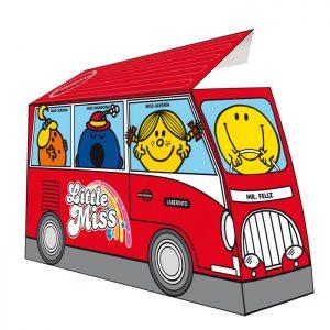 Pack autobús Mr. Men