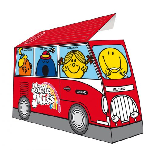 Pack autobús Mr. Men