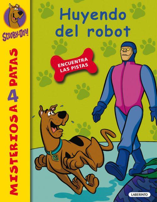 Cubierta Huyendo del robot