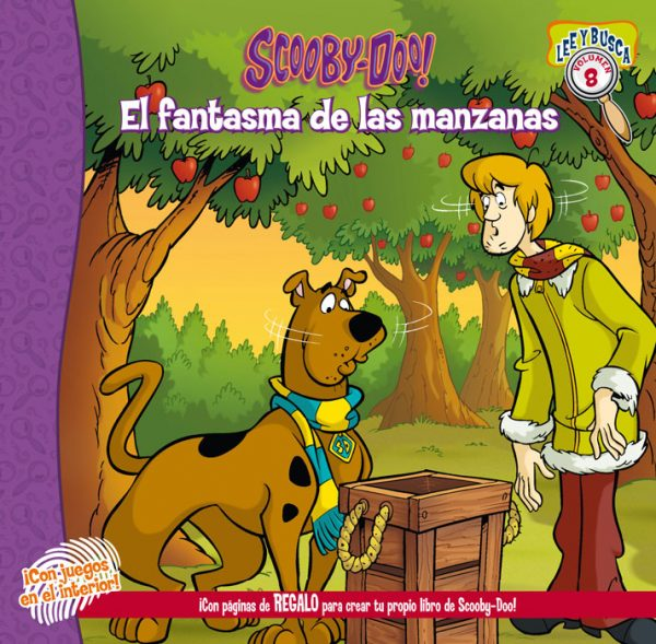 Cubierta Scooby-Doo y el fantasma de las manzanas