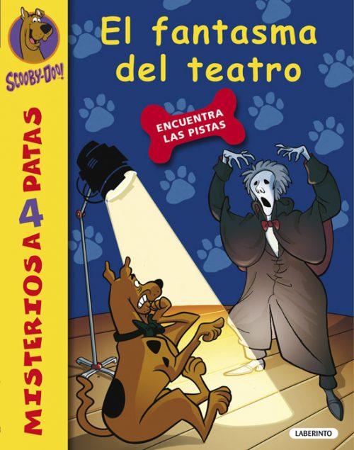 Cubierta El fantasma del teatro