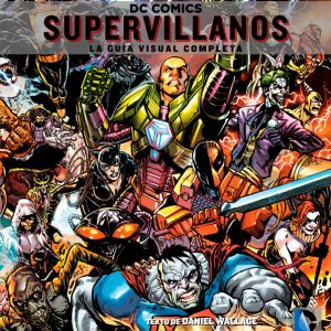 Cubierta Supervillanos Dc Comics