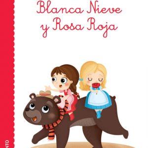 Cubierta Blanca Nieve y Rosa Roja