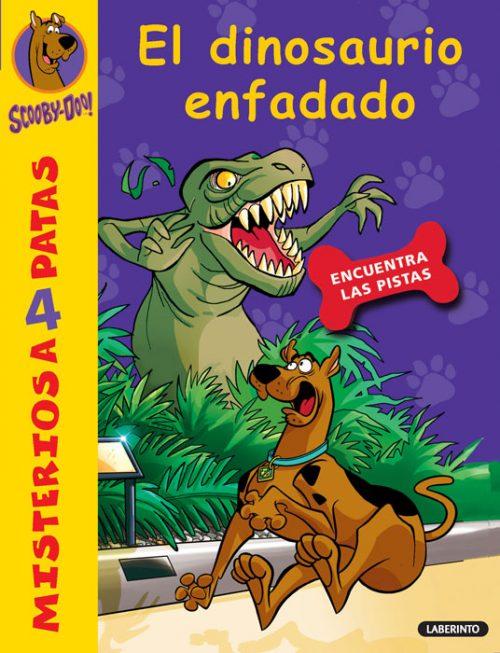 Cubierta El dinosaurio enfadado
