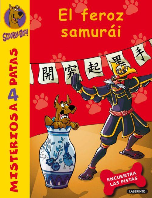 Cubierta El feroz samurái