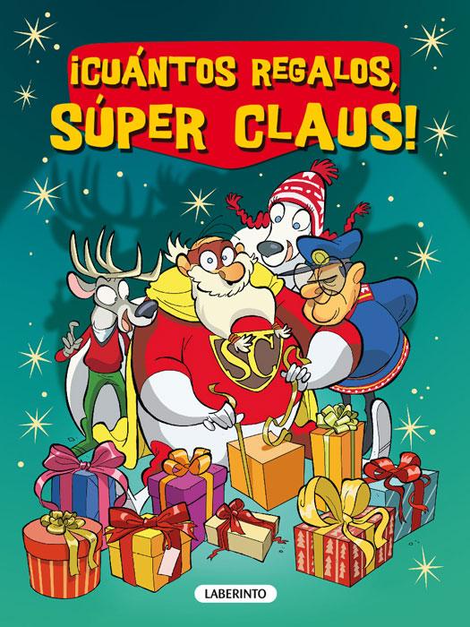 ¡Cuántos regalos, Súper Claus!