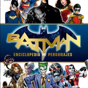 Cubierta Batman enciclopedia de personajes