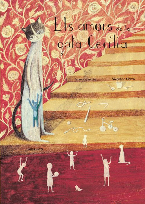 Cubierta Els amors de la gata Cecilia