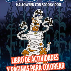 Cubierta Halloween con Scooby-Doo