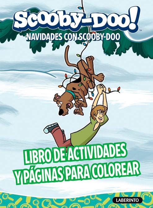 Cubierta Navidades con Scooby-Doo