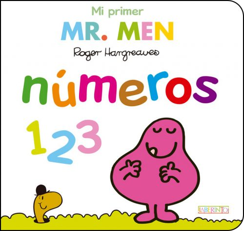 Cubierta Mi primer Mr.Men números