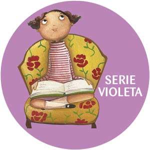 Logo Labericuentos serie violeta