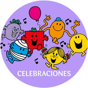 Logo Mr. Men Celebraciones