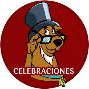 Logo celebraciones Scooby