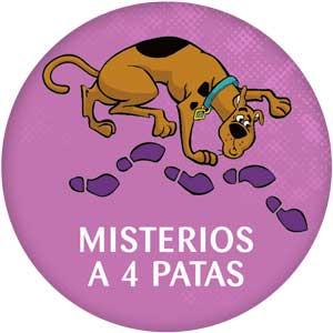 Logo Misterios a 4 patas