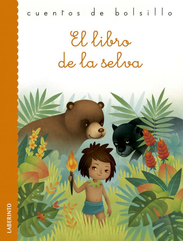 Cubierta El libro de la selva