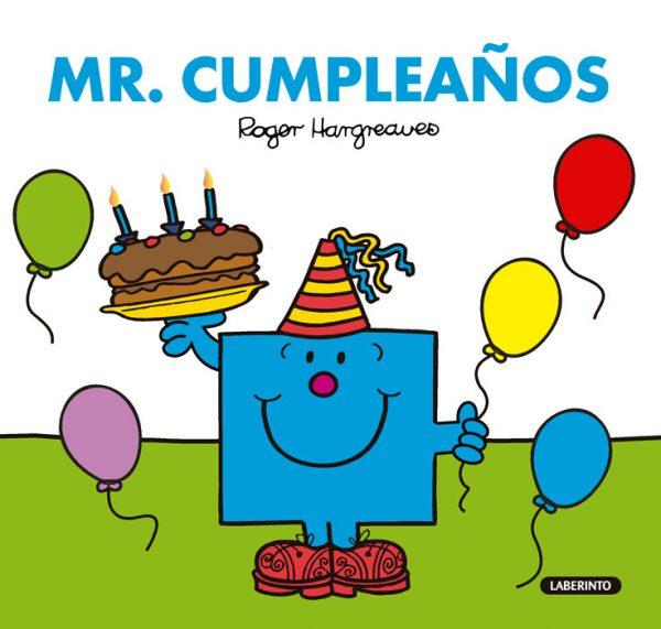 Cubierta Mr. Cumpleaños