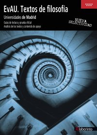 Cubierta EvAU Textos de filosofía