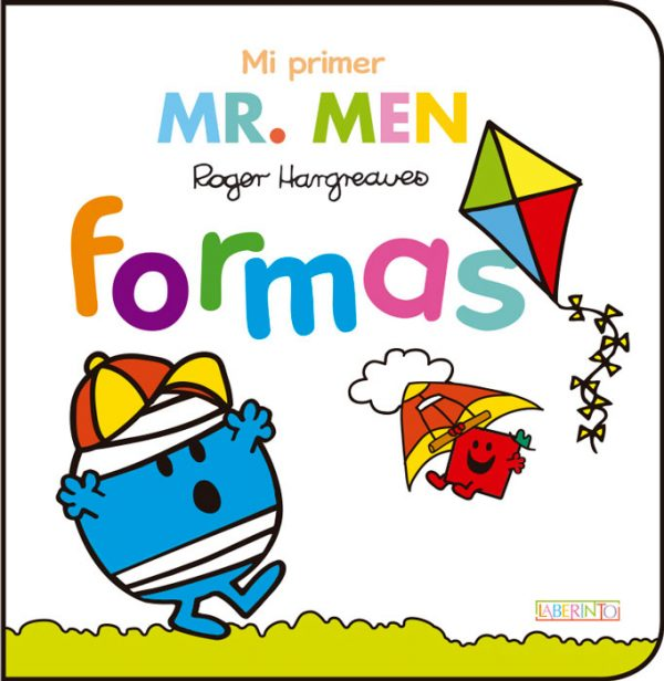 Cubierta Mi primer Mr. Men formas