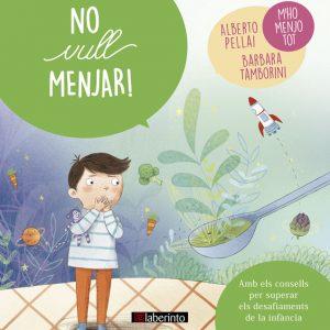 Cubierta No vull menjar!, colección Petits grans reptes