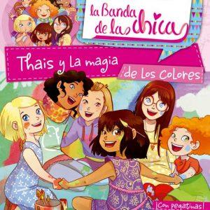 Cubierta Thais. Colección La Banda de las chicas