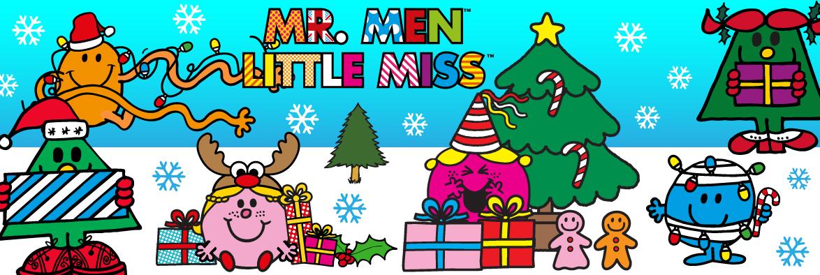 banner Mr. Men navidad