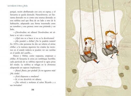 Páginas interiores de Historias de Marco y Mirko
