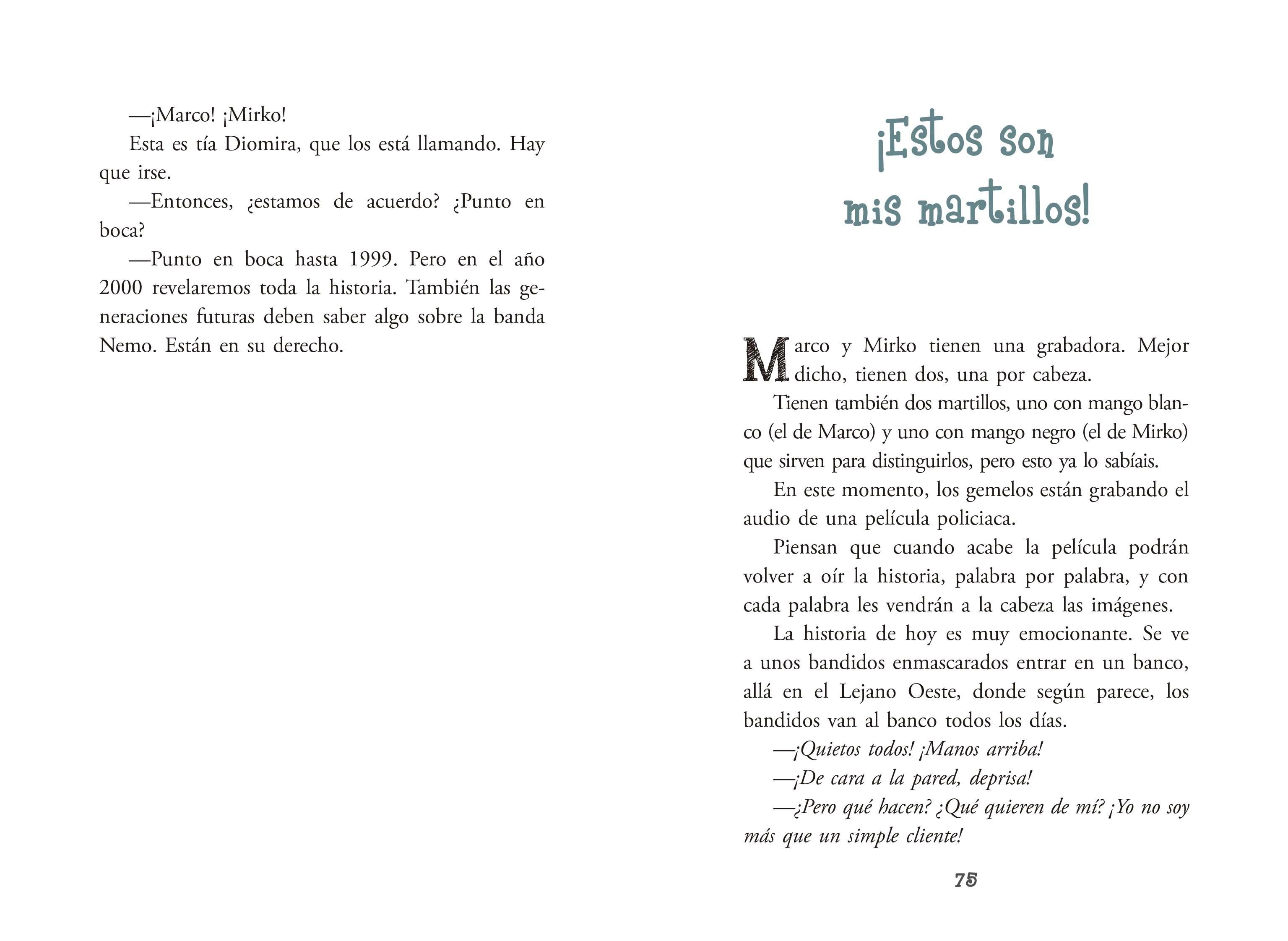Las aventuras de Marco y Mirko - Ediciones Laberinto