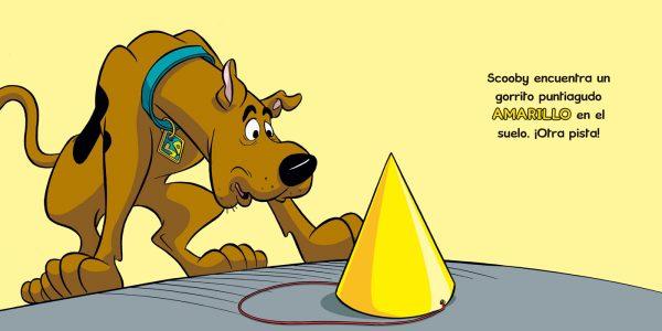 Páginas interiores Mi primer Scooby-Doo colores
