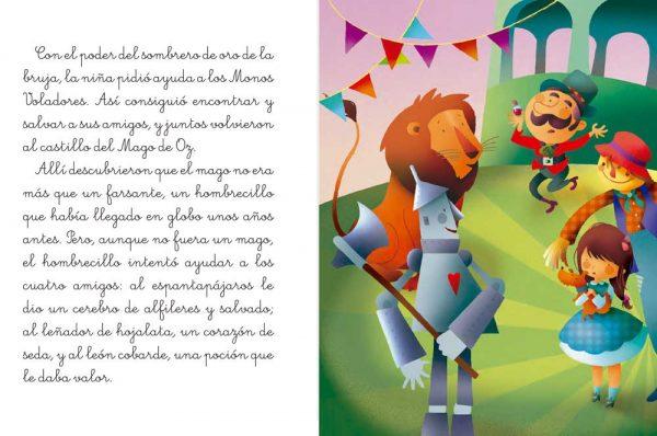 Páginas interiores El maravilloso Mago de Oz