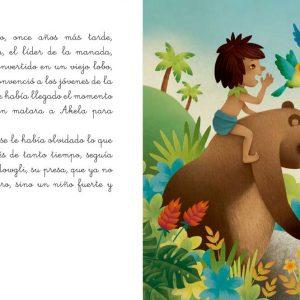Páginas interiores El libro de la selva