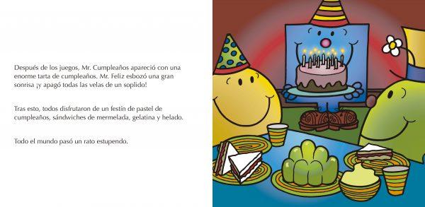 Páginas interiores Mr. Cumpleaños