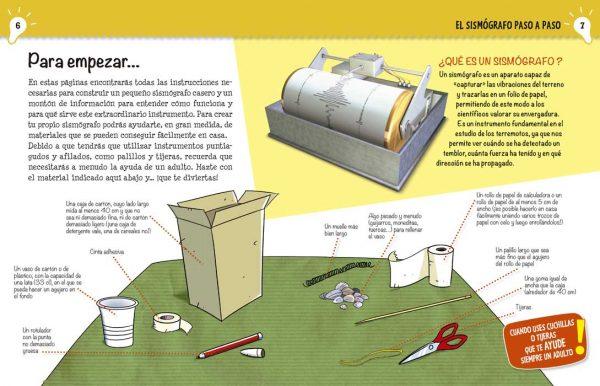 Interior Construir un sismógrafo