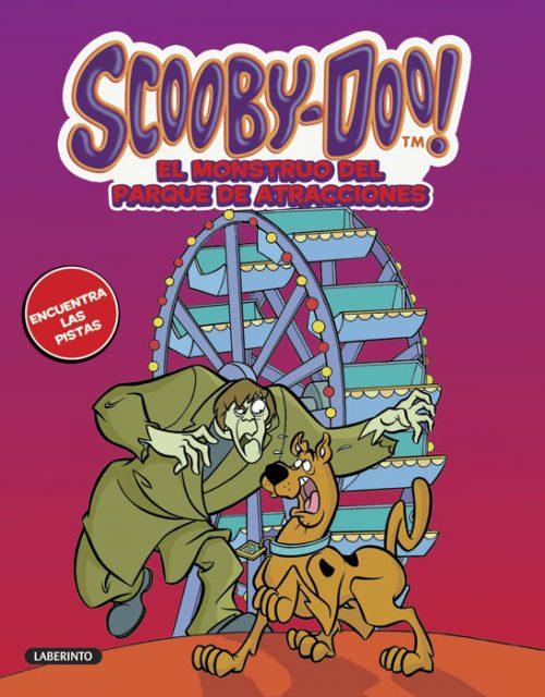 Cubierta Scooby-Doo 40. El monstruo del parque de atracciones