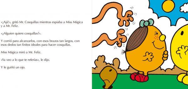 Páginas interiores Miss Mágica