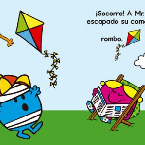 Interior Mi primer Mr. Men formas