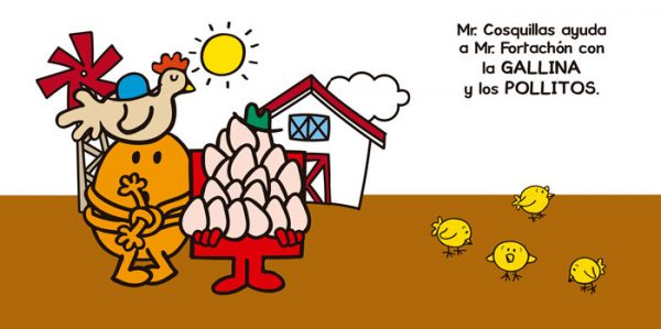 Interior Mi primer Mr. Men animales