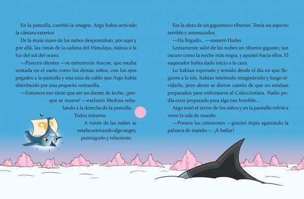 Páginas interiores El viaje de Argo