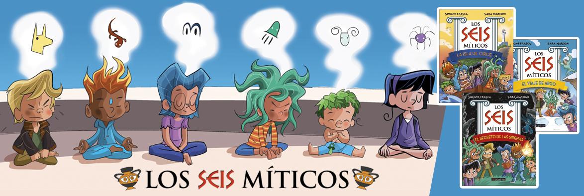 Banner Seis Míticos