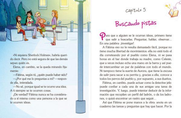 Interior: Fátima y el robo misterioso