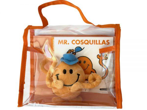 Pack especial Mr. Cosquillas: libro + peluche